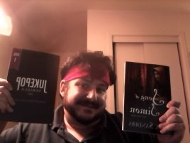 Craig With Two Books II