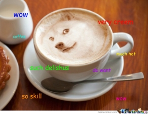 coffee doge