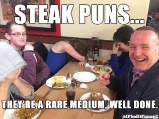 dad joke steak pun
