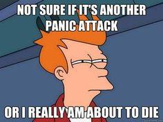 panic attack futurama