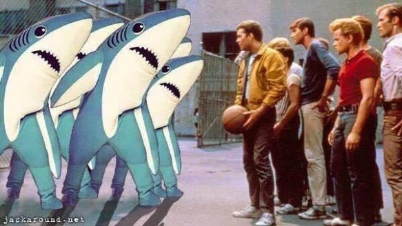 sharks vs jets
