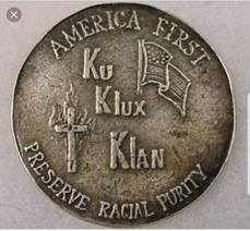 america first kkk