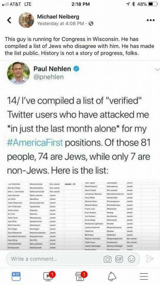 america first list